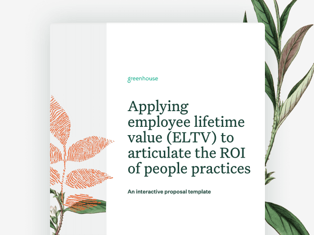 Cover image of Applying ELTV to articulate ROI