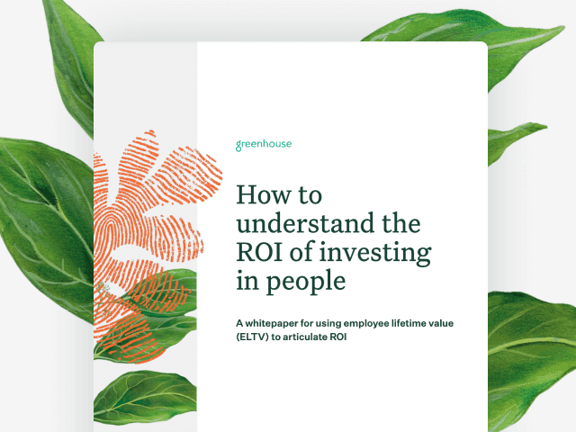 Cover image of How to understand the ROI of investing in people
