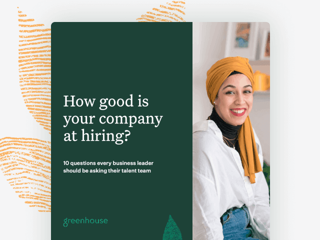 Cover image of the How good is your company at hiring