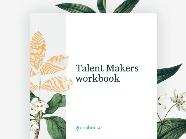 Cover image of the Talent Makers workbook