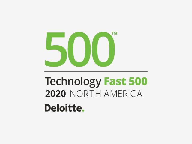 德勤科技快速500的标志