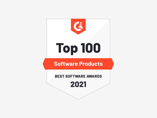 G2 bage -百强软件产品