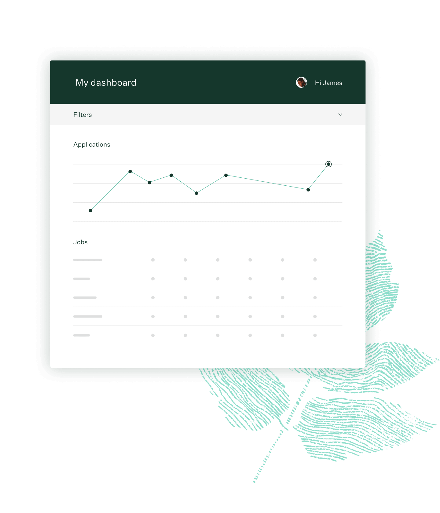 Greenhosue Recruiting dashboard