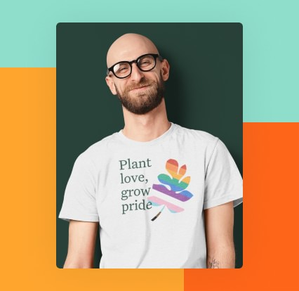 Photo of the Greenhouse Pride t-shirt