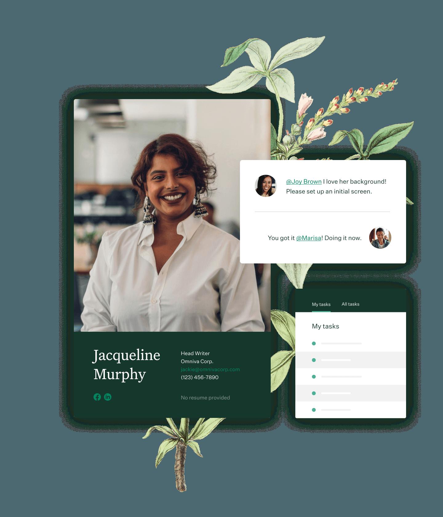 Greenhouse Recruiting candidate profile