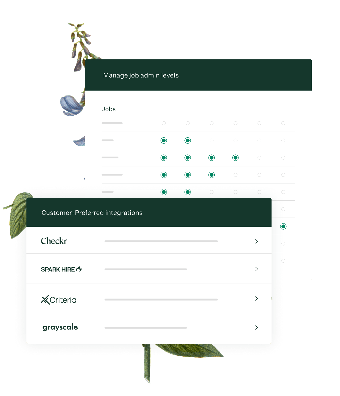 Greenhouse Recruiting custom configuration