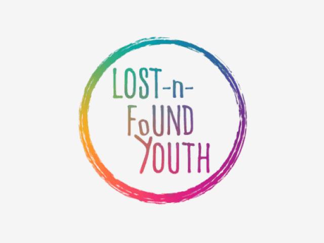 Lost-n-Found Youth logo