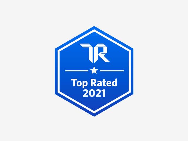 信任半径徽章- 2021年最高评级